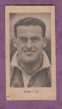 Blackburn Rovers Jock Weir (PV)